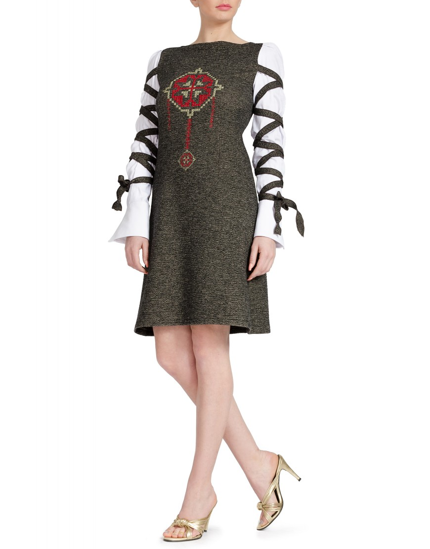 Clover Wool Grey Dress